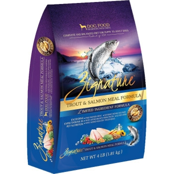 Zignature Dry Dog Food Trout Salmon Flavor