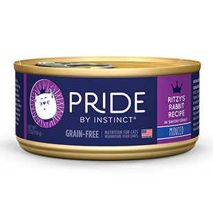 Pride Ritzy's Rabbit Minced Canned Cat Food