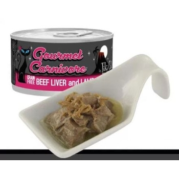 Gourmet Carnivore Beef Liver & Lamb Grain Free Canned Cat Food