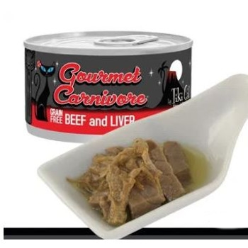 Gourmet Carnivore Beef and Liver Grain Free Canned Cat Food