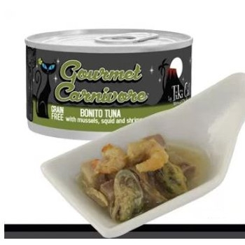 Gourmet Carnivore Bonito Tuna Grain Free Canned Cat Food