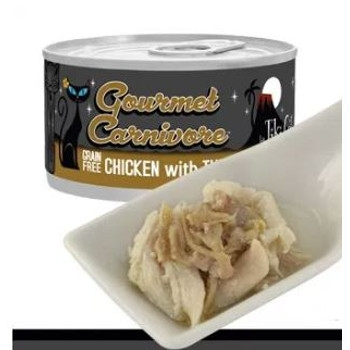Gourmet Carnivore Chicken with Turkey Grain Free Canned Cat Food