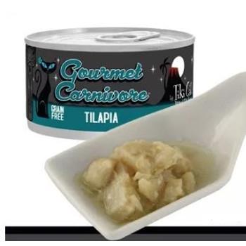Gourmet Carnivore Tilapia Grain Free Canned Cat Food