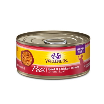 Wellness Complete Health™ Beef & Chicken Paté Canned Cat Food