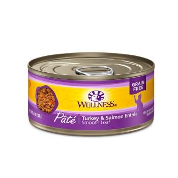 Wellness Complete Health™ Turkey & Salmon Paté Canned Cat Food