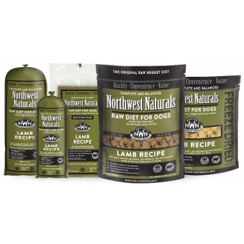 Northwest Naturals Raw Lamb Dinner for Dogs