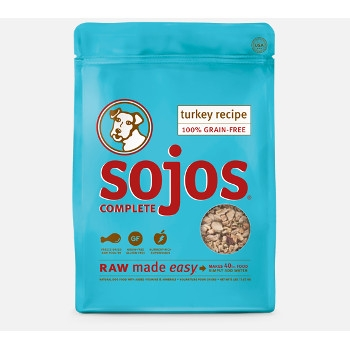 Sojos Complete Grain Free Freeze Dried Turkey Dog Food