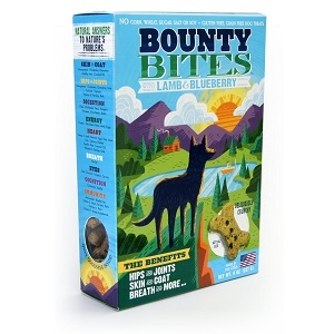 Bounty Bites Grain Free Lamb & Blueberry Baked Dog Treats