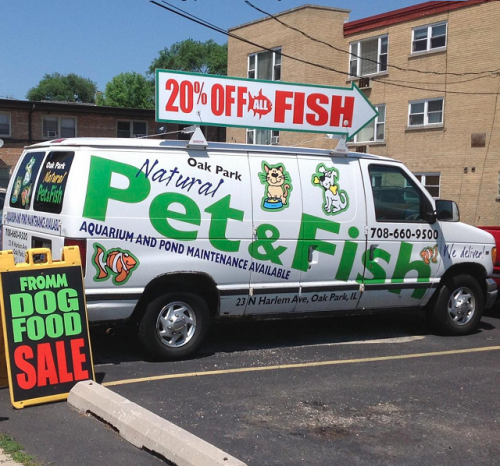 Delivery and Aquarium Services