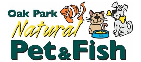 Oak Park Natural Pet and Fish Logo