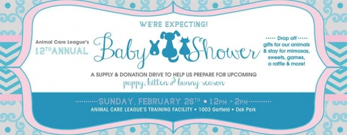 12th Annual Baby Shower with Animal Care League