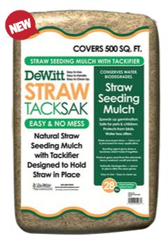 Dewitt Straw Tack Sak - Straw Seeding Mulch