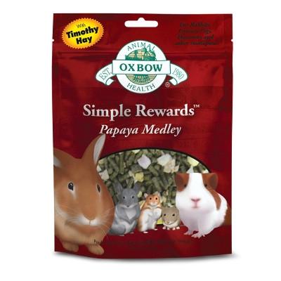 Oxbow Simple Rewards Papaya Medley Treats