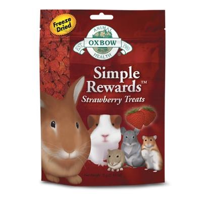 Oxbow Simple Rewards Strawberry Treat