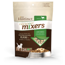 Nature's Variety Instinct Lamb Raw Boost Mixers for Dogs