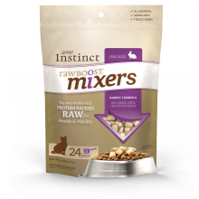 Nature's Variety Instinct Rabbit Raw Boost Mixers for Cats