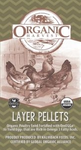 Organic Harvest Chicken Feed - Layer Pellets