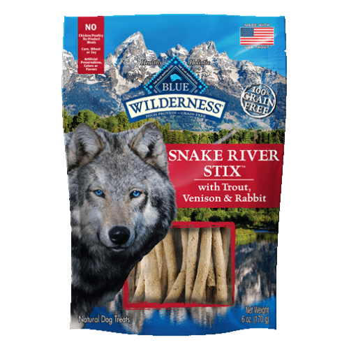 BLUE Wilderness® Snake River Stix™ Dog Treats