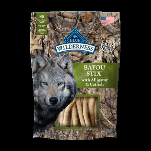 BLUE Wilderness® Bayou Stix™ Dog Treats