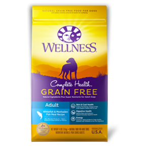 Wellness Complete Health Grain Free Adult Whitefish And Menhaden Fish Meal Recipe
