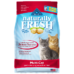 Blue Naturally Fresh Multi- Cat Quick Clumping Cat Litter