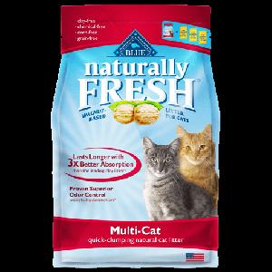 Blue Naturally Fresh Multi- Cat Quick Clumping Cat Litter