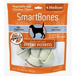 SmartBones Sweet Potato Classic Bone Chews