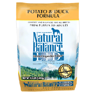 Natural Balance LID Potato & Duck Dry Dog Formula