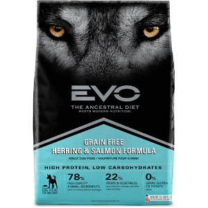 EVO Herring and Salmon Formula Dog Food