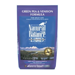 Natural Balance Limited Ingredient Diets Venison & Green Pea Dry Cat Formula