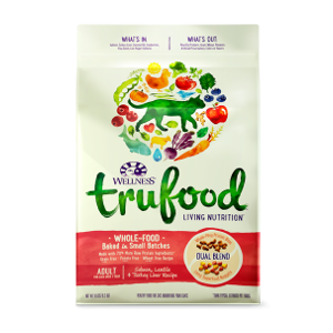 Wellness TruFood Baked Blends Adult Salmon Dry Cat Food
