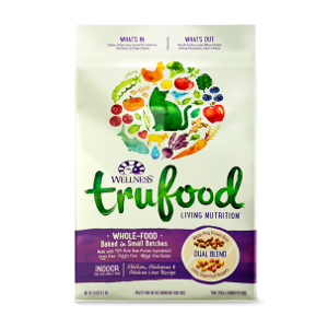Wellness TruFood Baked Blends Indoor Chicken Dry Cat Food