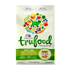 Wellness TrueFood Baked Blends Kitten Chicken Dry Cat Food