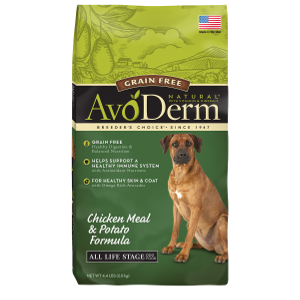 AvoDerm Grain Free Chicken Meal and Potato Formula