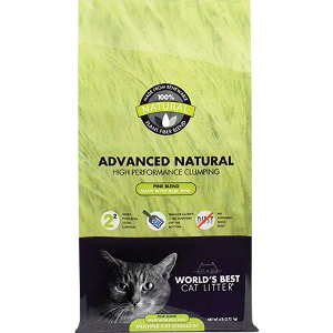 Worlds Best Cat Litter Advanced Natural Pine Blend
