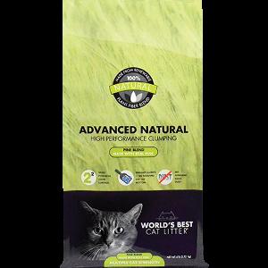 Worlds Best Cat Litter Advanced Natural Pine Blend