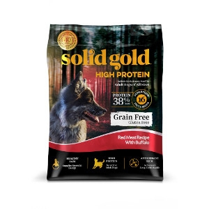 Solid Gold High Protein Red Meat Recipe With Buffalo