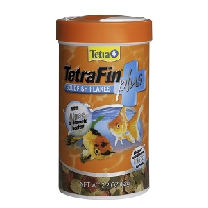 TetraFinPLUS Goldfish Food Flakes