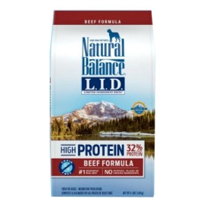 Natural Balance Limited Ingredient Diets® High Protein Beef Formula Dry Dog Food