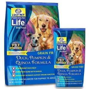 Lucy Pet's Duck, Pumpkin & Quinoa Formula For Dogs