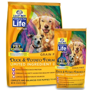 Lucy Pet'sDuck and Potato Limited Ingredient Diet For Dogs