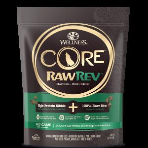 Wellness CORE RawRev Wild Game + 100% Raw Lamb