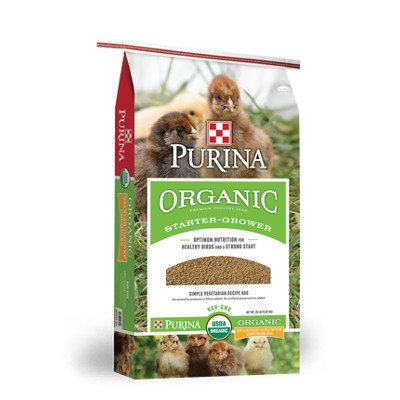Purina Organic Chick Starter-Grower Feed