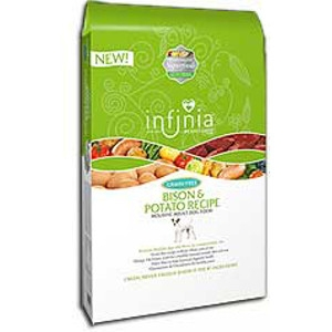 Infinia Bison & Potato 30lb. Dog Food