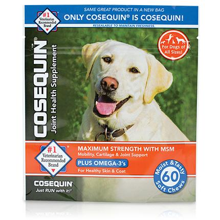 Cosequin® K9 Maximum Strength Chews with MSM Plus Omega-3