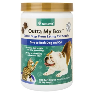 Outta My Box™ Cat Feces Deterrent for Dogs