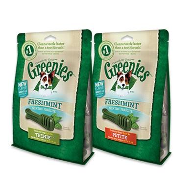 Greenies Freshmint Dental Chews, 12 oz.