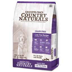 Grandma Mae's Country Naturals Grain Free Low Fat Recipe Dry Dog Food