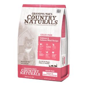 Grandma Mae's Country NaturalsGrain Free Limited Ingredient Salmon Dry Cat & Kitten Food