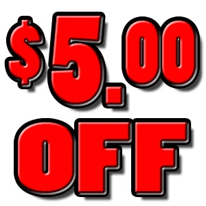 $5.00 OFF any purchase of $40